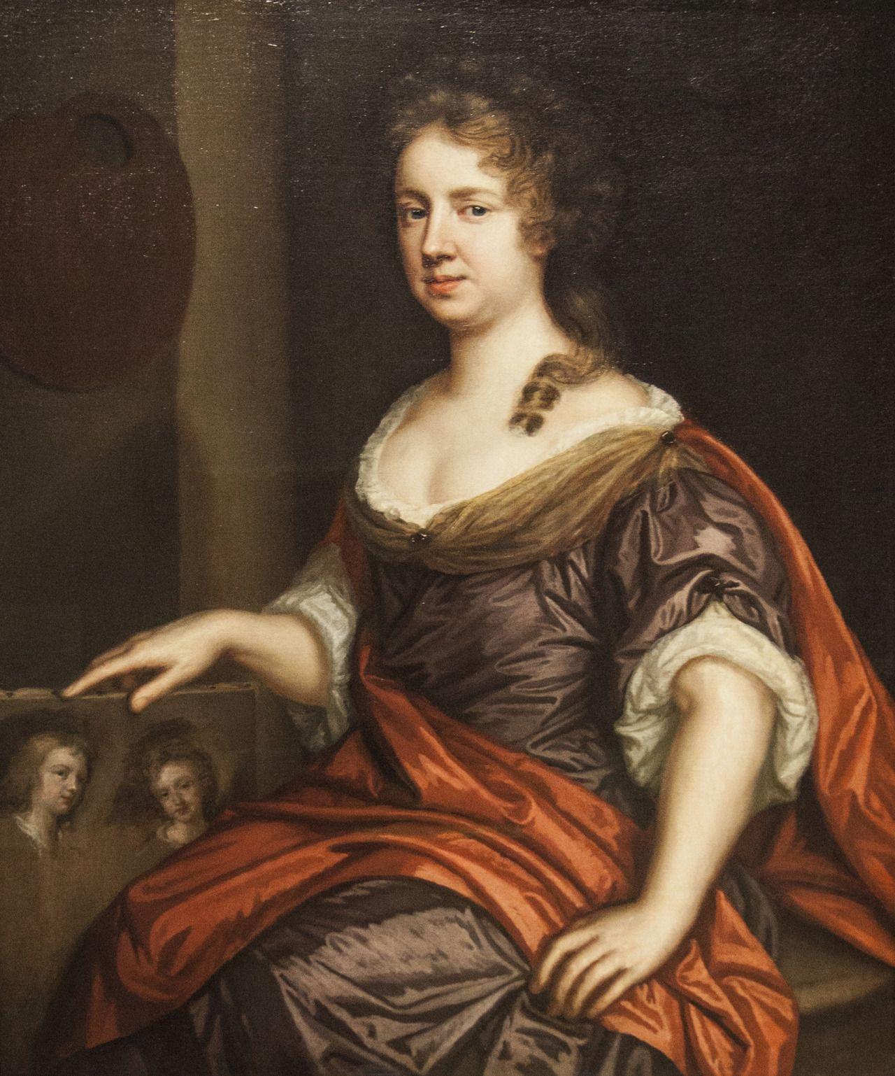 Autorretrato, Mary beale, 1680