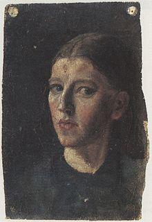 Anna Ancher, Autorretrato, ca. 1877–78