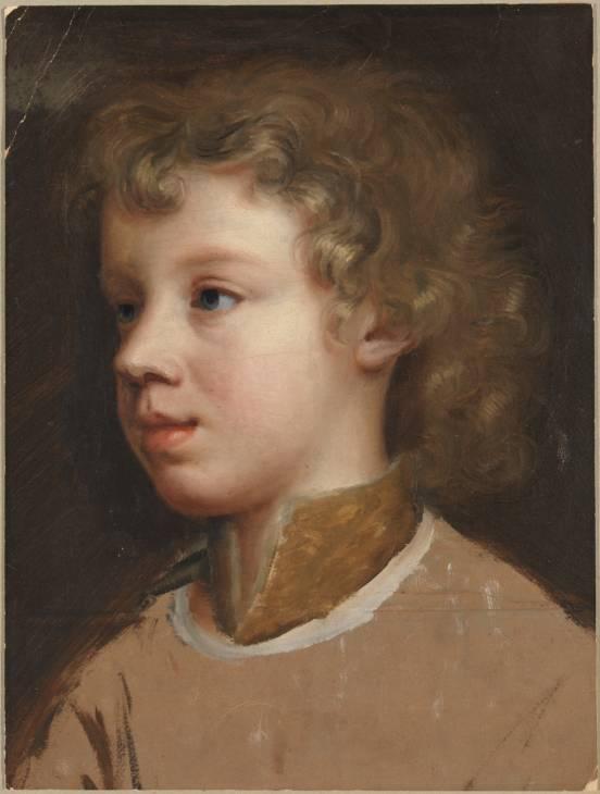 Boceto del hijo de la artista, Mary Beale, 1660