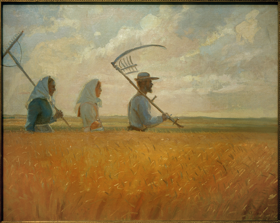 A.Ancher, Erntezeit