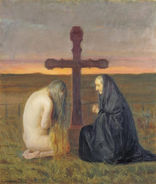 Grief, Anna Ancher, 1902