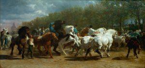 La foire du cheval. Rosa-Bonheur. 1852-1855