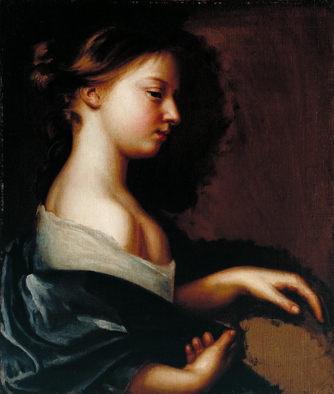 Portrait of a Young Girl c.1681 by Mary Beale 1633-1699