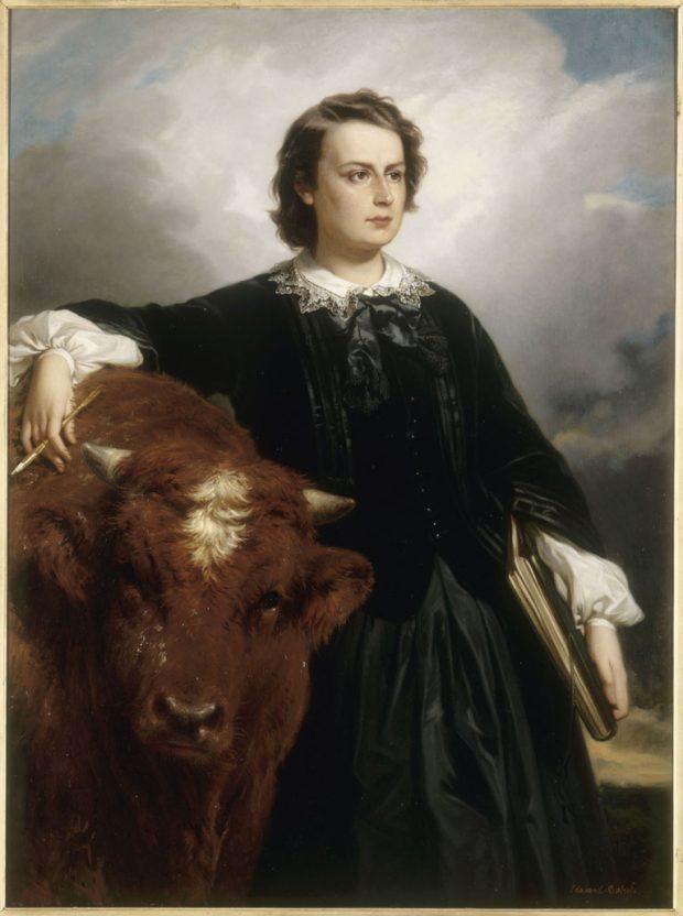 Retrato de Marie-Rosalie Bonheur por Édouard Louis Dubufe. 1857