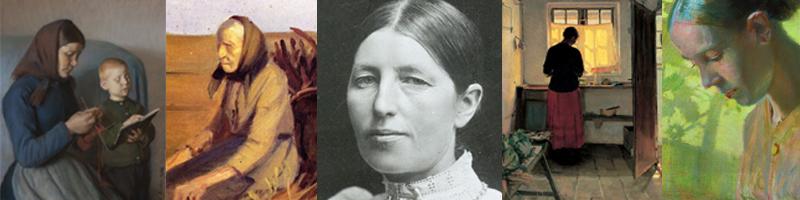 Anna Kirstine Brondum/Anna Ancher la pintora nórdica de la luz