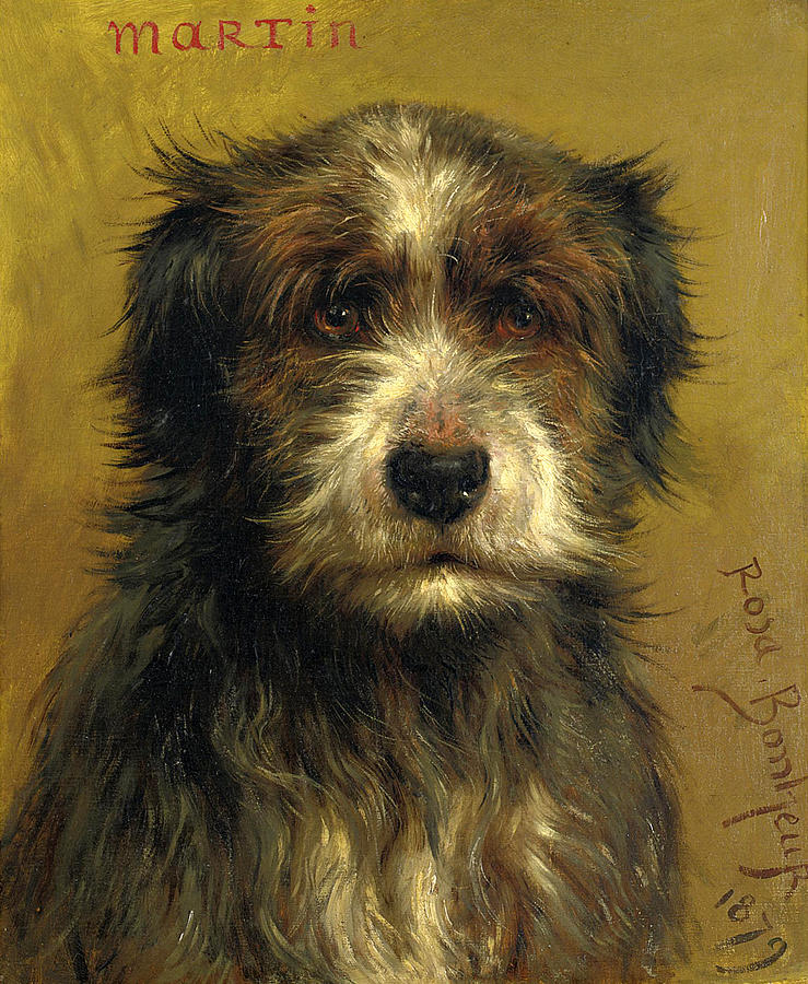 Martin a Terrier. Rosa Bonheur. 1879.